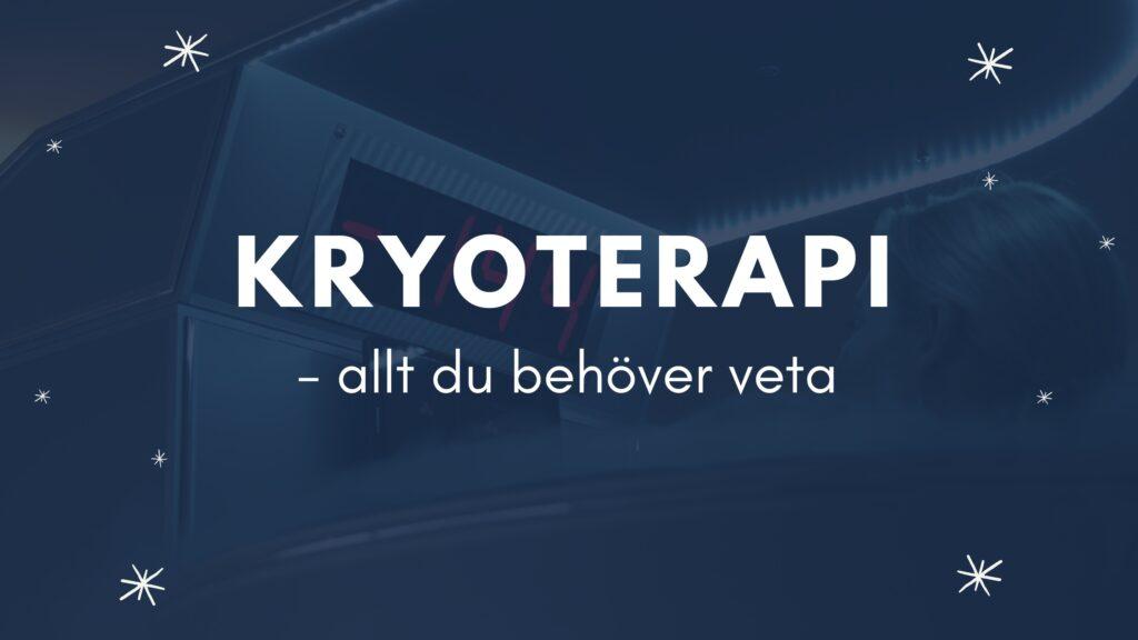 kryoterapi